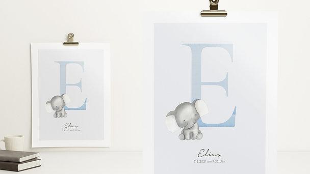 Wandbilder - Einzigartiges E
