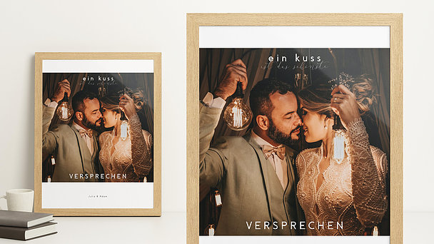 Wandbilder - Der Kuss