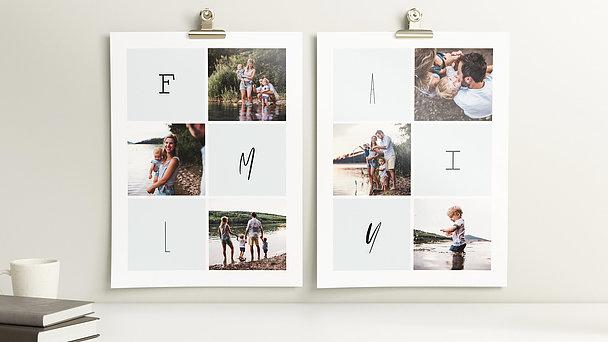 Wandbilder - Family love