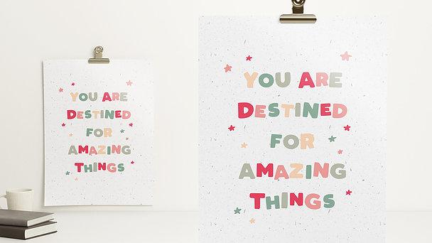 Wandbilder - Amazing things