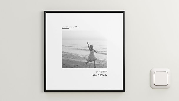 Wandbilder - Strandläufer