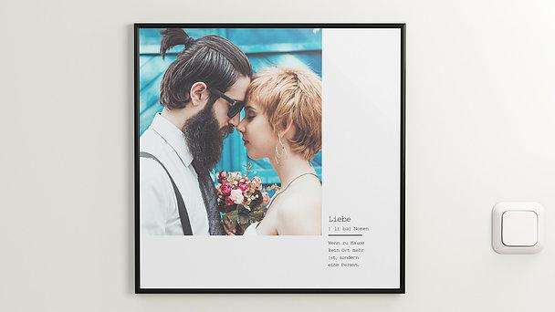 Wandbilder - Liebe bist Du