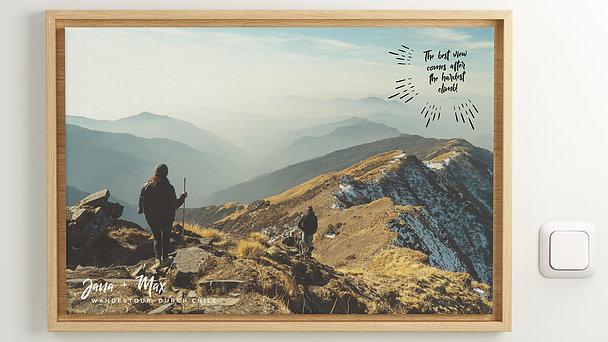 Wandbilder - Gipfelglück