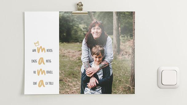 Wandbilder - Mamas größter Fan