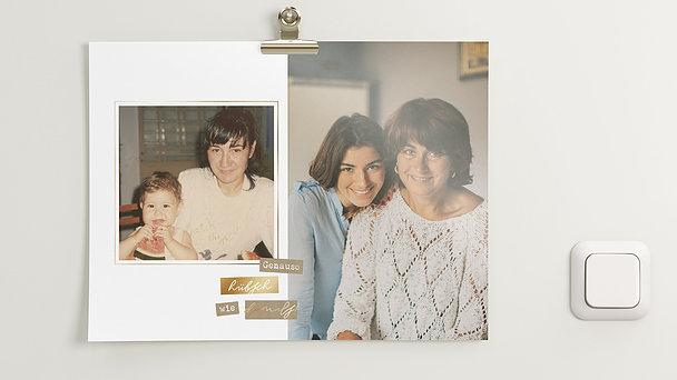 Wandbilder - Mama forever