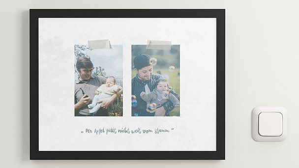Wandbilder - Familienleben