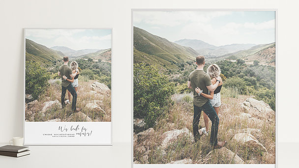 Wandbilder - Honeymoon