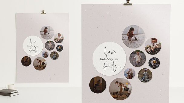 Wandbilder - Familienkreis