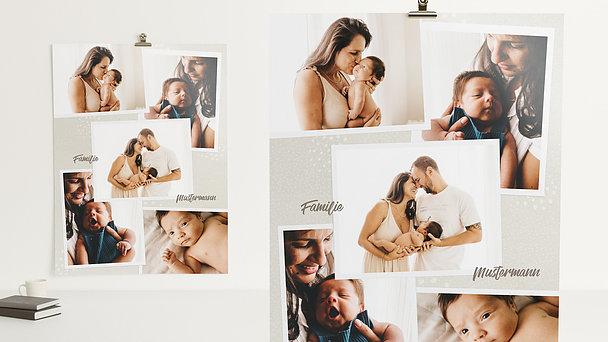 Wandbilder - Happy family
