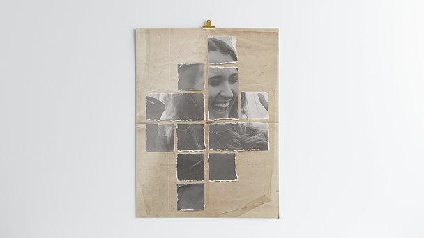 Wandbilder - Vintage Collage