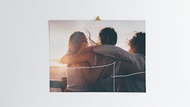 Wandbilder - Summer days