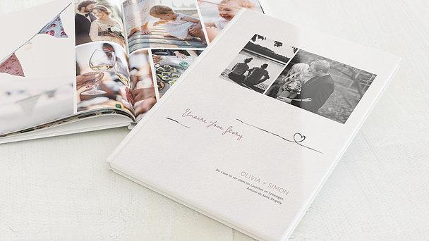 Fotobuch - Schleifenherz