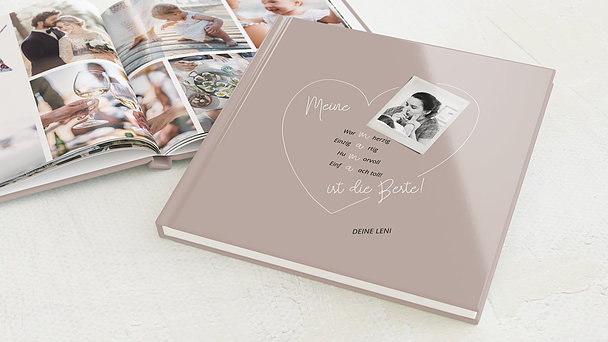 Fotobuch - Herzensgruß