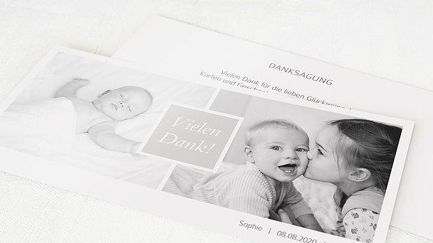 Danksagung Geburt - Unbedingt