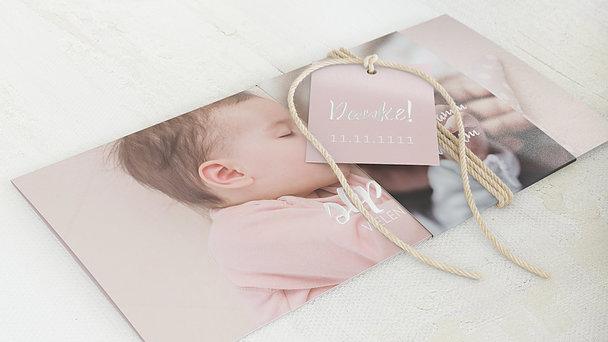 Danksagung Geburt - Grenzenlose Liebe