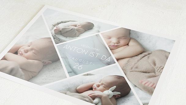 Danksagung Geburt - Facetten Baby