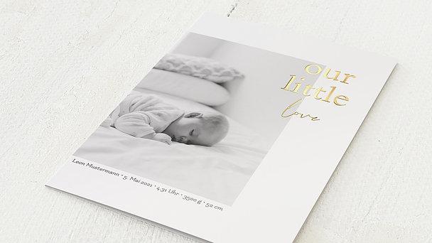 Danksagung Geburt - Pure Zartheit