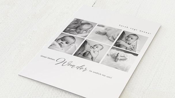 Danksagung Geburt - First Photos