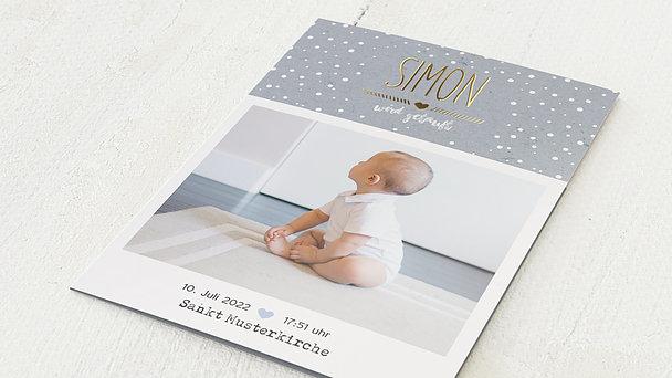 Taufkarten - Mit Liebe