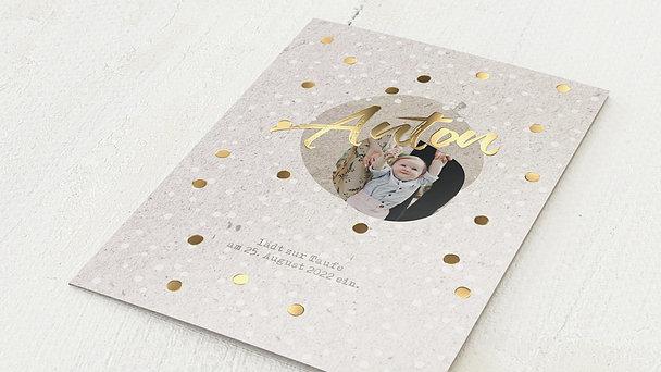 Taufkarten - Goldtaler