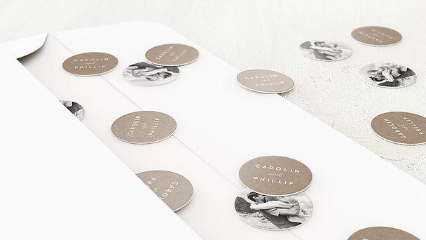 Konfetti im Umschlag - Unendlich verliebt