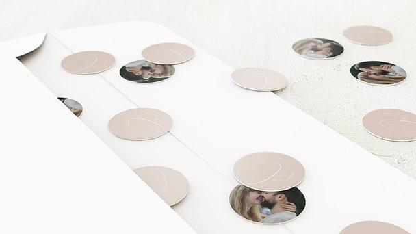 Konfetti im Umschlag - Spuren am Himmel