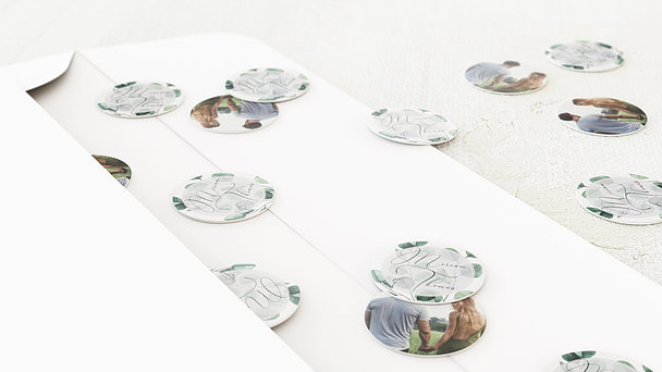 Konfetti im Umschlag - Love bubble