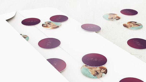 Konfetti im Umschlag - Geflitter