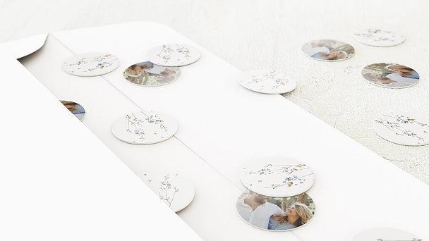 Konfetti im Umschlag - Zeit der Blüte
