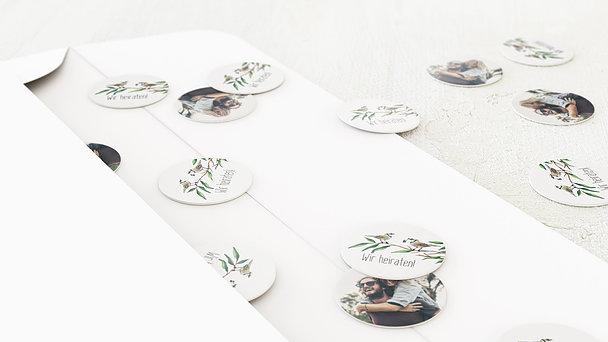 Konfetti im Umschlag - Liebesnest