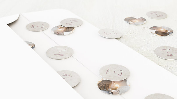 Konfetti im Umschlag - Zeitloses Strahlen