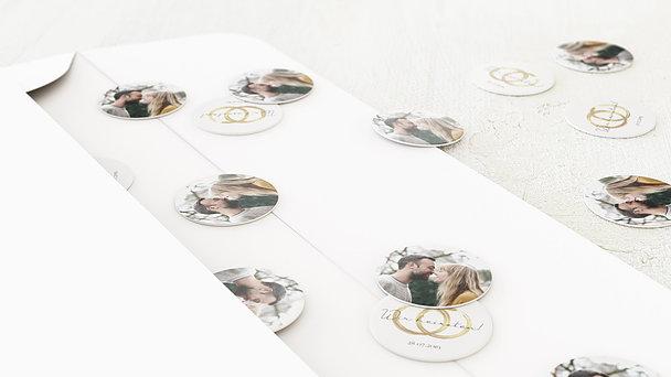 Konfetti im Umschlag - Noblesse