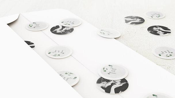 Konfetti im Umschlag - Blätterregen