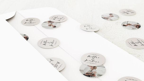 Konfetti im Umschlag - Blühende Zeit