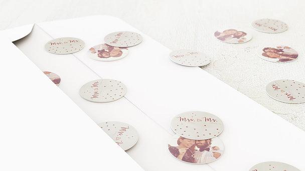 Konfetti im Umschlag - Opal