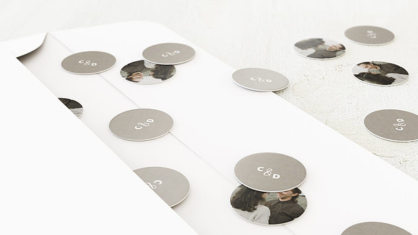 Konfetti im Umschlag - Edelsamt