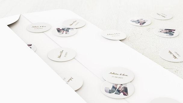 Konfetti im Umschlag - Liebe durch und durch