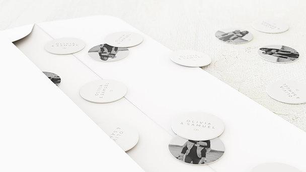 Konfetti im Umschlag - Zarte Blicke