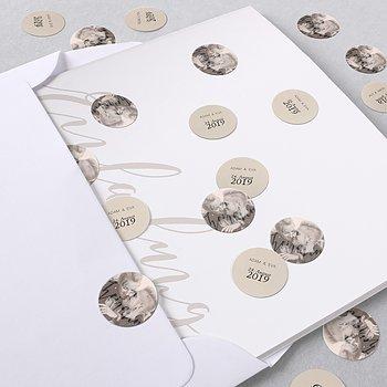 Konfetti im Umschlag - Innige Liebe