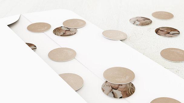 Konfetti im Umschlag - Zart erblüht