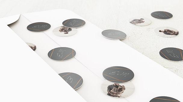 Konfetti im Umschlag - Zwei Glückskinder