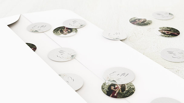 Konfetti im Umschlag - Traumbouquet