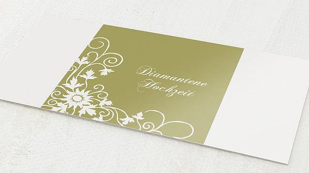 Diamantene Hochzeit Einladung - Der große Tag