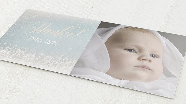 Danksagung zur Taufe - Zauberlicht Baby