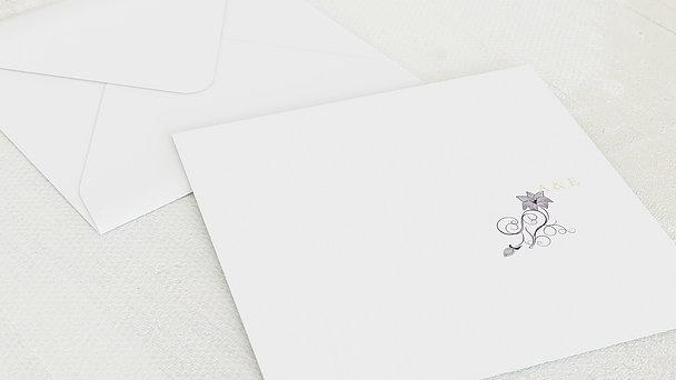 Umschlag mit Design Goldene Hochzeit - Sinfonie der Blüten
