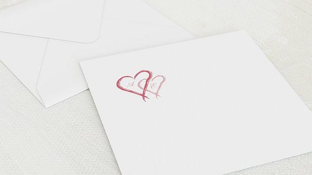 Umschlag mit Design Goldene Hochzeit - Mein Herz