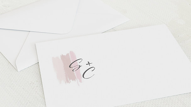 Umschlag mit Design Silberne Hochzeit - Farbschimmer