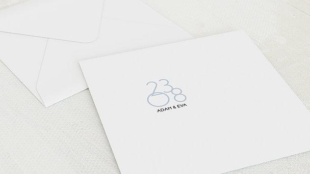 Umschlag mit Design Silberne Hochzeit - Married 25 years