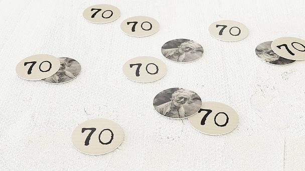 Konfetti Streudeko Geburtstag - Herr der Maschine 70