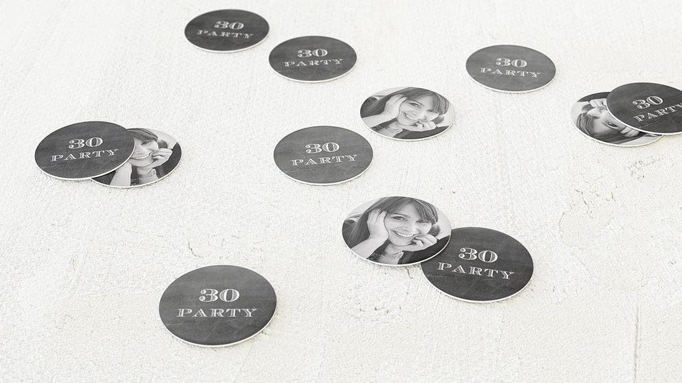 Konfetti Streudeko Geburtstag Jahrestafel 30 Detail